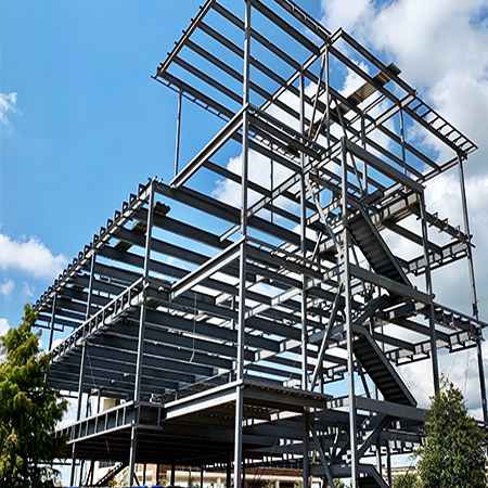 Structural Steel Building Erection